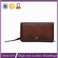 2015 Latest Good Quality Factory Direct Price Genuine Leather Wallets Manufacturers Women