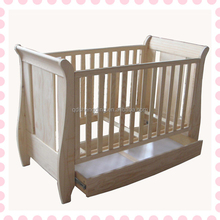 Great quality baby kids wooden playpen baby crib used toddler beds for sale