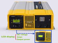 1800W solar system solar panel inverter 12v dc 240v ac