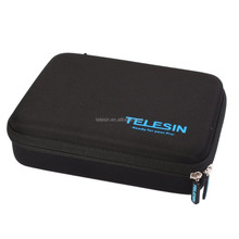 Telesin Professional go pro storage carrying EVA case of small size for go pro camera and accessories