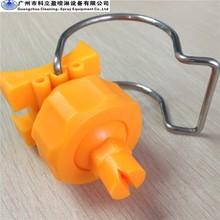 """1 1/4"""" clamp plastic flat spray nozzles"""