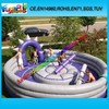 Latest Funny Inflatable Joust Stick, Crazy Game Inflatable Jousting Arena For Sale (FUNSP1-183)