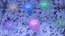 Wholesale Aquarium Decorative Jellyfish Fish Tank Glowing Simulation Blubber Acaleph Water Play Landscape Ornament Toy