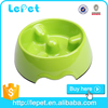 new design pet products melamine dog bowls with paw logo/dog feeder