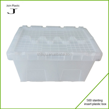 opaque stackable plastic packaging boxes insertable boxes