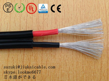 TUV 600v/1000v one core 2x4.0mm solar pv cable for solar station system