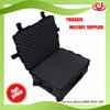Shanghai oem factory waterproof rugged hard case with wheels and foam