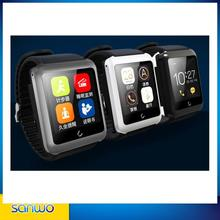 newest intelligent bluetooth sim card calling with Charging vest Separation design U11 Smart Watch for samsung for iphone