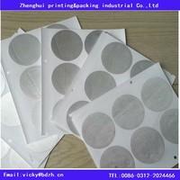 nespresso compatible self adhesive aluminum lid for refilling nespresso capsules