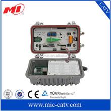 Two RF output ports AGC control optical receiver