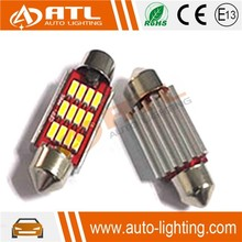 Factory price CANBUS car led dome bulb, 12-14.5Vconstant current car led dome, non-polarity automotive led dome light