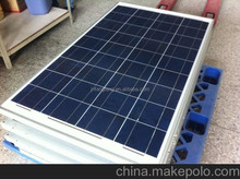 High Efficiency and Good Quality 110W Solar Panel Price with Full Certifications, TUV,IEC,CE,SGS,ISO,CSA