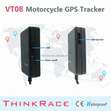 2015 Thinkrace Motorcycle gsm gps tracker VT08 With Fleet Tracking Software