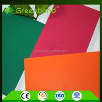 Greenbond aluminum composite panel 4mm of 1500mm width from china supplier