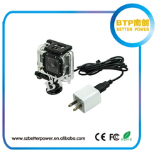 Top selling in Alibaba 2014 new product made in China Battery eliminator with gopro cable for gopro hero 3 and hero3+