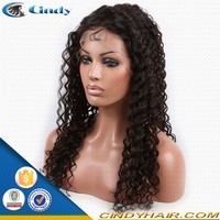 Classical afro wave hair african american wigs for african american