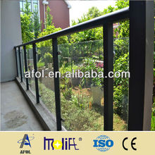Weather Resistance Aluminum Handrail With Handrail Support