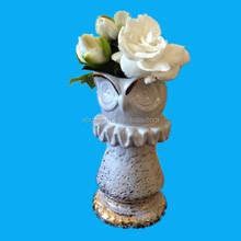 modern antique flower ceramic art vase