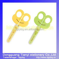 Big frog scissors plastic kids scissors