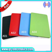 stand leather case candy color cover for Samsung galaxy tab 2 10.1 p5100 smart cover