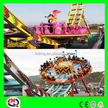 Kiddie attractive outdoor playground flying disco ride extreme