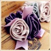 Satin ribbon flowers,wholesale wedding ribbon bows
