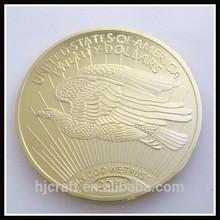América 20 dólares copia de oro de la moneda/los estados unidos réplica de las monedas