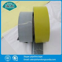 Jumbo roll bituminous aluminum foil tape from xunda factory