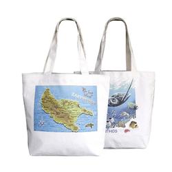 waxed popular canvas shopping cotton canvas bags