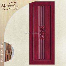 Factory direct supply unfinished solid wood interior doors for office