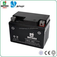 Motorcycle Parts 12V 4Ah Rechargeable Sealed Lead Acid Battery For YTX4L-BS