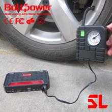 Boltpower Air compressor 400AMP car jump starter jumper/power battery charger