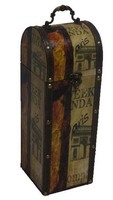 gift accessory decor wooden box for wine