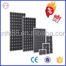 Top supplier highest efficiency 12v/24v the lowest price solar panel