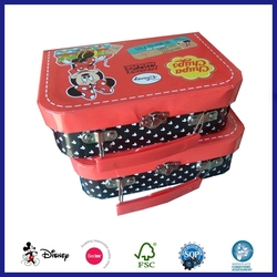 Hotsale New Latest Design Crown Children Candy Anime Suitcase