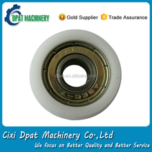 wholesale abibaba plastic pulley wheels with bearings for aluminium windows with high quality