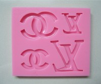 The famous Logo Collection Fondant Cake Molds Tools Soap Chocolate Mould Bakeware -C352