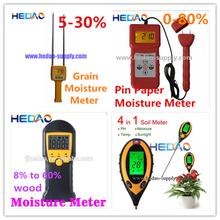 Fácil portátil 4-em-1 sensor de umidade do solo medidor de umidade do solo medidor digital portátil medidor de ph do solo