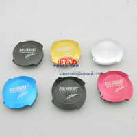 High quality aluminum Ralliart oil filter cap for car