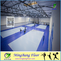 PP portable volleyball court sports flooring in Artificial Grass&Sports Flooring