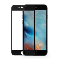 EXCO Full coverd curved glass protective film 9h tempered glass screen protector for ipad for iPhone 6s plus