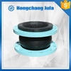 fuel resistant rubber flexible expansion joint for heat exchange