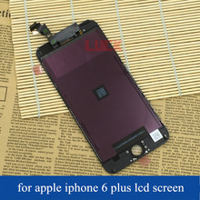 Original Foxconn LCD for iphone 6 plus LCD Screen Display with Touch Screen Digitizer Replacement White Black DHL Free Shipping