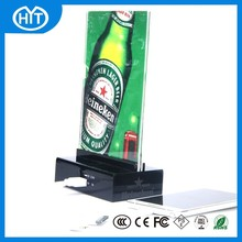 2015 New promotional item for beer/paper/restaurant/food company power bank external battery charger