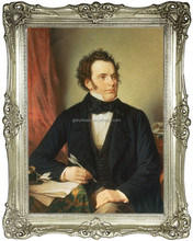 Portrait of Schubert, Painting, Oil Handmade Painting