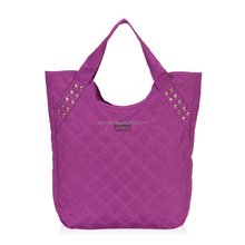 2015 newest product foldable fabric shopping bag for women