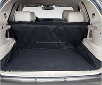 """Black 59""""x47"""" Waterproof Oxford Auto Car Trunk Mat / Back Seat Cover For Pet Dog"""