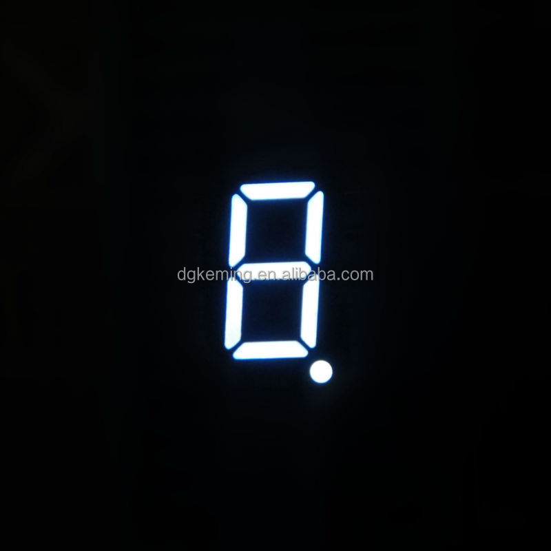 Ali white .3611 single digit ntp digital clock