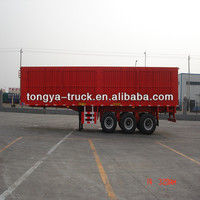 Tongya Best-selling 3 axles small box trailers for sale