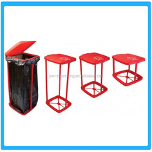 Fold Trash Rack/Plastic Folding Trash Bag Holder